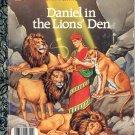 A LITTLE GOLDEN BOOK - DANIEL IN THE LIONS' DEN #2 CHILDREN'S HB BOOK 1987 NEAR MINT