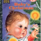 A LITTLE GOLDEN BOOK - BABY'S CHRISTMAS CHILDREN'S HARDBACK BOOK 1996 NEAR MINT