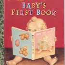 A LITTLE GOLDEN BOOK CLASSIC - BABY'S FIRST BOOK CHILDREN'S HB BOOK 1ST ED. 2007 NEAR MINT