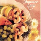 SIMPLE DISHES FOR SUMMER DAYS SOFTCOVER COOKBOOK 1992 NEAR MINT