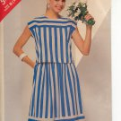 BUTTERICK #5466 SEE & SEW PATTERN - WOMEN'S TOP & SKIRT SIZE B 14-18 UNCUT OUT OF PRINT 1986 NM
