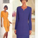 BUTTERICK #3749 DONNA RICCO PATTERN-WOMEN'S MISSES DRESS SIZE 6-10 CUT/USED OOP 1994 NM