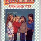 BABY-SITTERS LITTLE SISTER #33 KAREN'S SECRET BY ANN M. MARTIN CHILDRENS PB BK 1992 VG