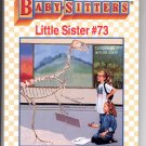 BABY-SITTERS LITTLE SISTER #73 KAREN'S DINOSAUR BY ANN M. MARTIN CHILDRENS PB BOOK 1996 NM