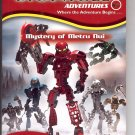BIONICLE ADVENTURES #1 MYSTERY OF METRU NUI BY GREG FARSHTEY PB BOOK 2004 NM