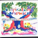 INSPIRATION SANDWICH - STORIES TO INSPIRE OUR CREATIVE FREEDOM BY SARK 1992 HARDCOVER BOOK NM