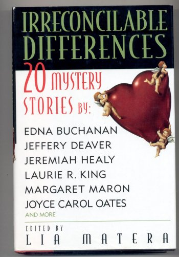 IRRECONCILABLE DIFFERENCES ~ 20 MYSTERYs BY LIA MATERA HBDJ BOOK 1999 NM