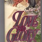 LOVE AND GLORY BY PATRICIA HAGAN 1982 PAPERBACK BOOK VG