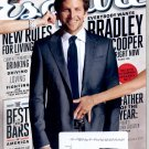 ESQUIRE MAGAZINE ~ JUNE/JULY 2011 ~ EVERYBODY WANTS BRADLEY COOPER & NEW RULES FOR LIVING VG
