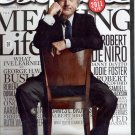 ESQUIRE MAGAZINE ~ JANUARY 2011 ~ ROBERT DENIRO DANNY DEVITO & WHAT I'VE LEARNED BY GEORGE BUSH VG