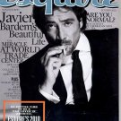 ESQUIRE MAGAZINE ~OCTOBER 2010~JAVIER BARDEM'S BEAUTIFUL LIFE - PHILLIP ROTH & KERI RUSSELL NM