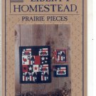 QUILTING CRAFT LEAFLET: LIBERTY HOMESTEAD QUILTING BLUE WHALE ~ PRAIRIE PIECES PRAIRIE PATRIOT MINT