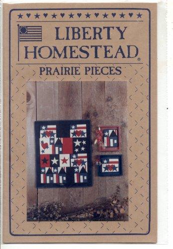 QUILTING CRAFT LEAFLET: LIBERTY HOMESTEAD QUILTING BLUE WHALE ~ PRAIRIE PIECES PRAIRIE PATRIOT MINT