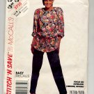 McCALL'S STITCH 'N SAVE #5735 MISSES TUNIC & PANTS SIZE B MEDIUM - LARGE UNCUT OOP 1992 VG TO NM