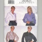 BUTTERICK ELLEN TRACY PATTERN # 5208 MISSES SHIRT SIZE 8-12 UNCUT 1997 OOP