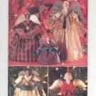 BUTTERICK CRAFT PATTERN #5114 CHRISTMAS DECORATIVE ANGELS UNCUT 1997 OOP