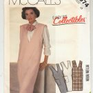 McCALL'S EASY PATTERN # 2074 MISSES PULLOVER JUMPER SIZE 10 UNCUT 1985 OOP