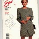 McCALL'S EASY PATTERN # 8594 MISSES DRESS & UNLINED JACKET SIZE B 14-18 UNCUT 1997 OOP