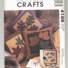 McCALL'S CRAFTS PATTERN # 4188 FALL LEAVES MINI QUILT & TABLE RUNNER & PILLOW UNCUT 2003 OOP