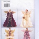 "BUTTERICK CRAFT PATTERN # 4059 COLLECTIBLE DECORATIVE 14"" ANGELS UNCUT 1995 OOP"
