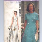 SIMPLICITY PATTERN # 5911 MISSES DRESS IN 2 LENGTHS SIZE 12 CUT 1973 VINTAGE