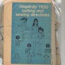 SIMPLICITY PATTERN # 7830 GIRLS CHILDS DRESS  SIZE 7-14 CUT 1968 VINTAGE OOP