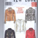 SIMPLICITY NEW LOOK PATTERN # 6017 WOMENS JACKET 5 VARIATIONS SIZE A 6-16 CUT
