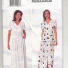 BUTTERICK JESSICA HOWARD PATTERN # 4913 MISSES DRESS SIZE 12-16 CUT 1997 OOP