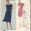 VOGUE ALBERT NIPON DESIGN PATTERN # 2472 MISSES DRESS SIZE 10 CUT VINTAGE OOP