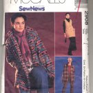 McCALL'S PATTERN # 2908 MISSES JACKET VEST PANTS SKIRT & TOP SIZE 12-16 CUT 2000 OOP