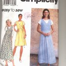 SIMPLICITY EASY PATTERN # 7176 MISSES JUMPER & KNIT TOP SIZE 12-16 CUT 1996 OOP
