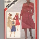 SIMPLICITY PATTERN # 5166 MISSES PULLOVER DRESS & JACKET SIZE 10 CUT 1981  OOP ~ VINTAGE
