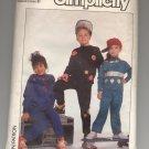 SIMPLICITY PATTERN # 8775 CHILD KNIT SWEATSHIRT & PANTS W/ APPLIQUE SIZES MD CUT 1988 VINTAGE OOP