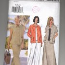 BUTTERICK PATTERN # 3532 MISSES/PETITE JACKET VEST TOP PANTS & SKIRT SIZE 8-12 CUT 2002 OOP