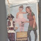 BUTTERICK PATTERN # 4010 CHILDS COSTUMES PIRATE BALLERINA ROBINHOOD SIZES C CUT 1986 VINTAGE OOP