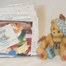 ENESCO'S CHERISHED TEDDIES ~ TEDDY - FRIENDS GIVE YOU WINGS TO FLY #476757 ~ 1998 MIB
