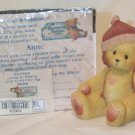 ENESCO'S CHERISHED TEDDIES ~ ANNE - SO GLAD YOU'RE HERE TO KEEP ME WARM #534234 ~ 1999 MIB