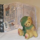 ENESCO'S CHERISHED TEDDIES ~ MEREDITH - YOU'RE AS COZY AS PAIR OF MITTENS #534226 ~ 1999 MIB