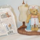 ENESCO'S CHERISHED TEDDIES ~ SARAH - MEMORIES TO WEAR AND SHARE #308676 ~ 1997 MIB