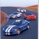 PRINT #68:  DODGE VIPERS ON RACE TRACK PHOTO by RON KIMBALL  MINT