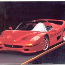 PRINT #18: RED FERRARI F-50 BY RON KIMBALL 8 X 10 MINT