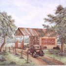 1993 PRINT #11:  COCA COLA COKE MARTIN'S GARAGE  MINT