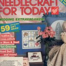 NEEDLECRAFT FOR TODAY CRAFT MAGAZINE MAY JUNE 1985 w/ FULL SIZE PULL OUT PATTERNS VERY GOOD