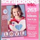 BETTER HOMES & GARDENS SCRAPBOOKS ETC BACK ISSUE MAGAZINE FEBRUARY MARCH 2008 MINT