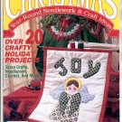 CHRISTMAS YEAR-ROUND NEEDLEWORK & CRAFT IDEAS BACK ISSUE MAGAZINE MARCH APRIL 1991 NM