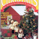 CHRISTMAS YEAR-ROUND NEEDLEWORK & CRAFT IDEAS BACK ISSUE MAGAZINE JAN FEB 1992 NEAR MINT