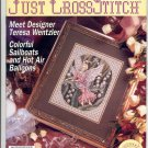 JUST CROSS STITCH BACK ISSUE MAGAZINE APRIL 1993 MINT