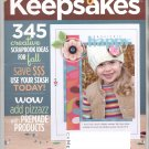 CREATING KEEPSAKES SCRAPBOOKING CRAFT MAGAZINE NOVEMBER 2008 NEAR MINT