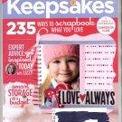 CREATING KEEPSAKES SCRAPBOOKING CRAFT MAGAZINE FEBRUARY 2009 NEAR MINT