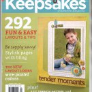CREATING KEEPSAKES SCRAPBOOKING CRAFT MAGAZINE MARCH APRIL 2011 NEAR MINT